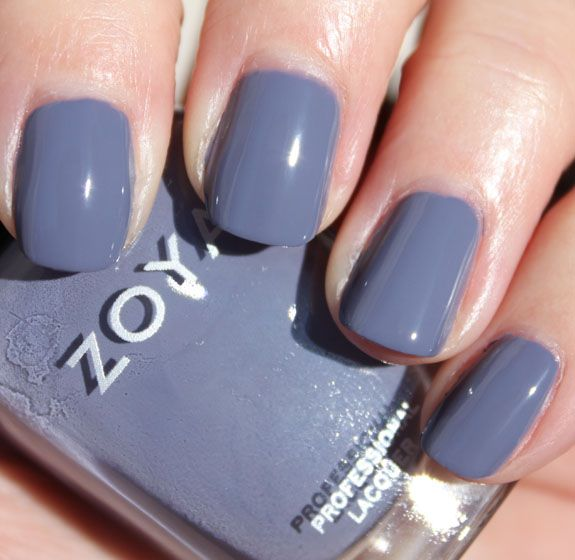 """Zoya Caitlin - think it might pair well with my Essie Master Plan for another French """"Twist"""" manicure"""