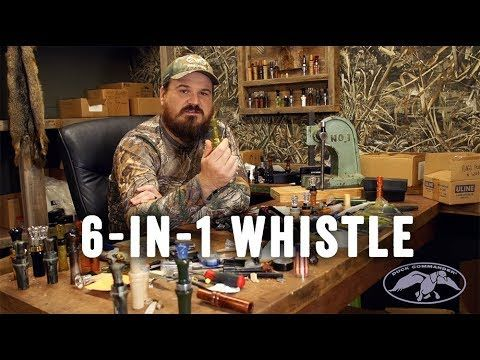 Duck Commander 6-in-1 Pintail Widgeon Whistle Duck Call Instructional Video