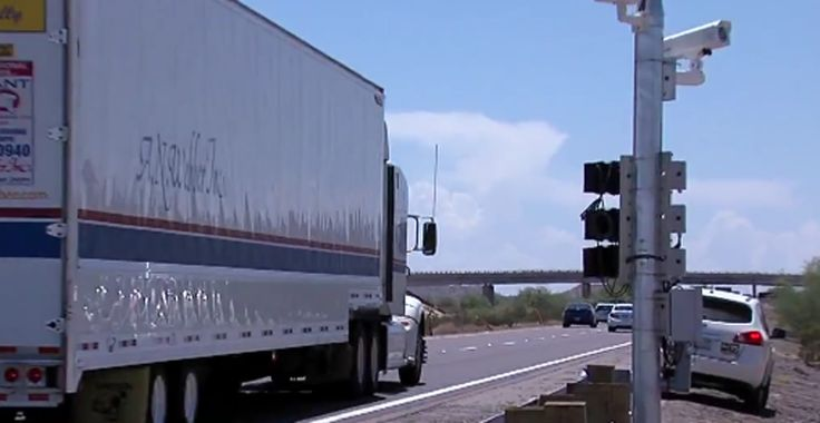 ADOT Tells Motorists: 'New Highway Cameras Only Targeting Big Rigs'