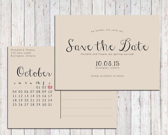 Rustikale speichern das Datum bedruckbar, speichern die Datum-Postkarte, speichern Sie den Termin-Kalender