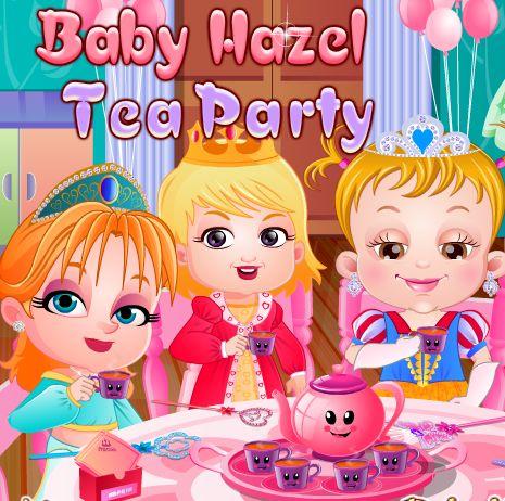 Hazel Bebek ve Arkadaşları Çay partisi yapmaya karar verirler. Hazelin evinde toplanan arkadaşları akşam çay keyfi yapmaktadır. Sizde çay partisine buradan katılabilirsiniz.