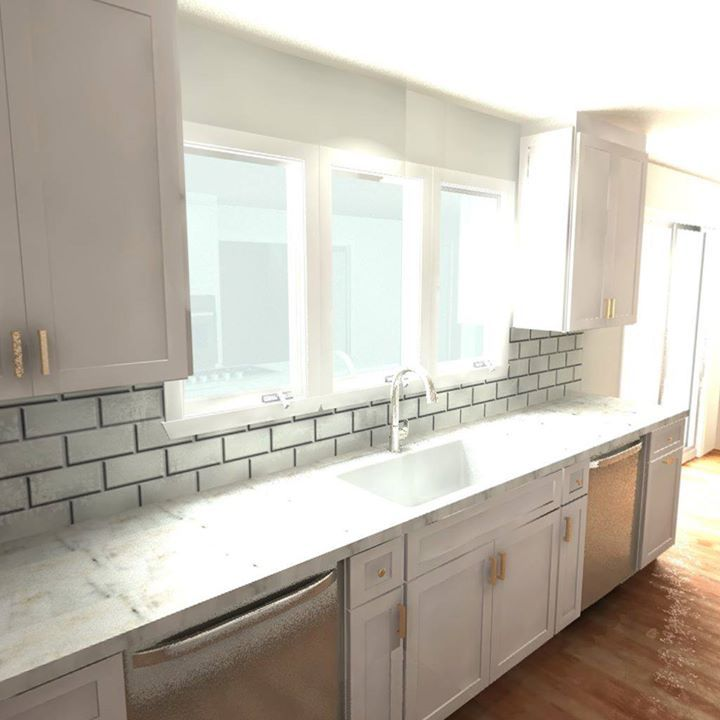 Have A Look At This 3D 360 Degree Kitchen Rendering! We