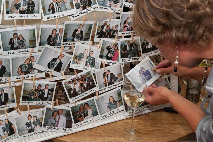 polaroids op je bruiloft