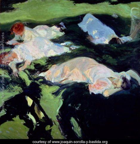 The Siesta, 1911 - Joaquin Sorolla y Bastida - www.joaquin-sorolla-y-bastida.org