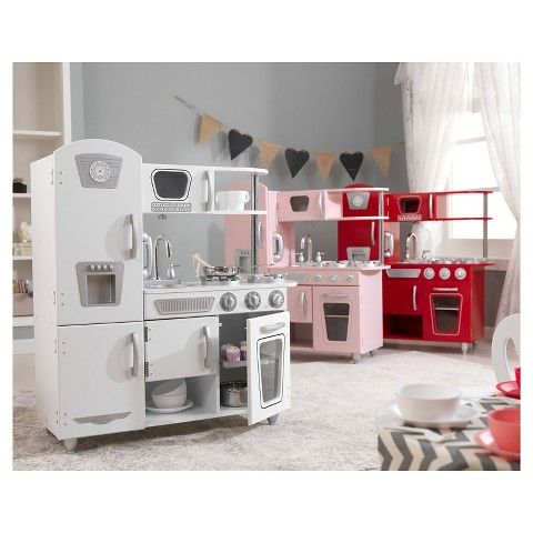 Parker's Birthday KidKraft White Vintage Kitchen