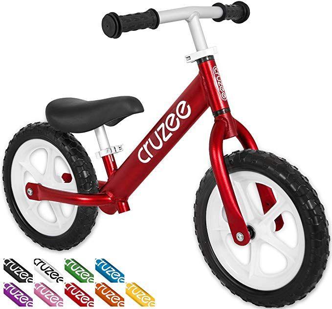 Cruzee Ultralite Balance Bike 4 4 Lbs For Ages 1 5 To 5 Years