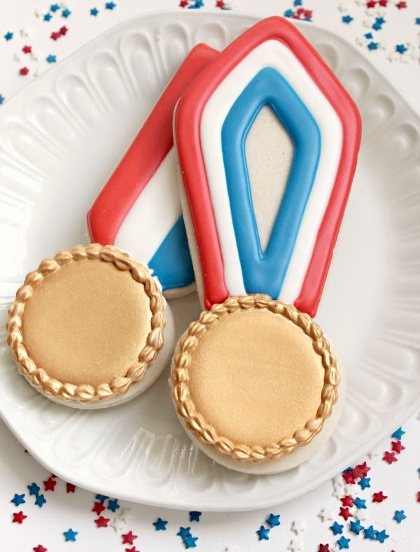 Gold Medal Cookies! - B. Lovely Events