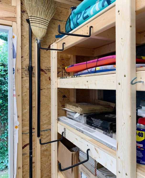 35 Diy Shed Organization Tips How To Organize A Beach House Storage Shed Organization Storage Shed Organization