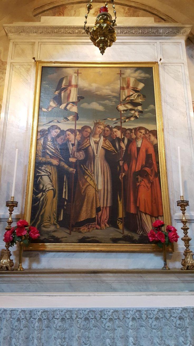 Brescia: San Clemente  Sant'Orsola e le compagnie martiri Moretto1540/50