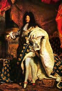 Lodewijk XIV werd op zijn 5e al koning, hij kon natuurlijk op zijn 5e nog niet regeren dus moest er een vervanger komen, want zijn moeder mocht niet alleen het land besturen. Mazarin was de 1e minister van Lodewijk XIII. Hij leerde Lodewijk erg veel zoals het goddelijk recht droit divin. Toen Mazarin stierf trok Lodewijk alle macht naar zich toe, hij had ook een beroemde uitspraak De staat, dat ben ik. Hij was een absoluut vorst en de adel was zijn adviseur.