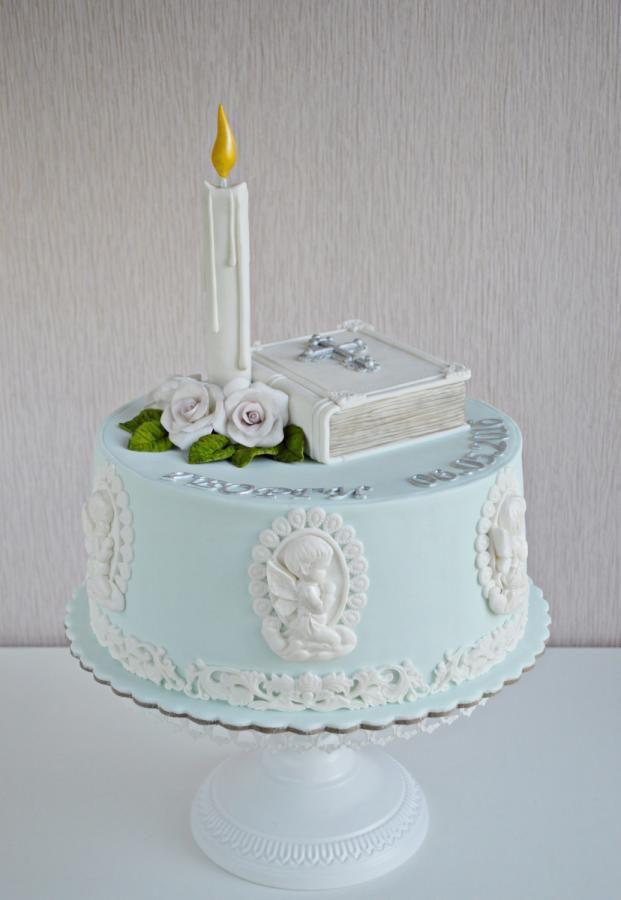 Christening Cake by Albena Nacheva