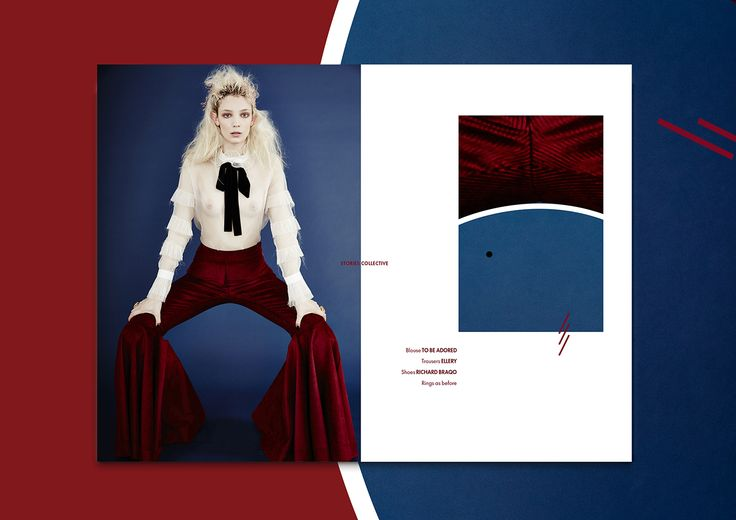 <p>I just stumbled on this stunning editorial composition by Italian graphic designer Isabella Conticello for Stories Collective. The online platform is filled with inspiring fashion stories through a