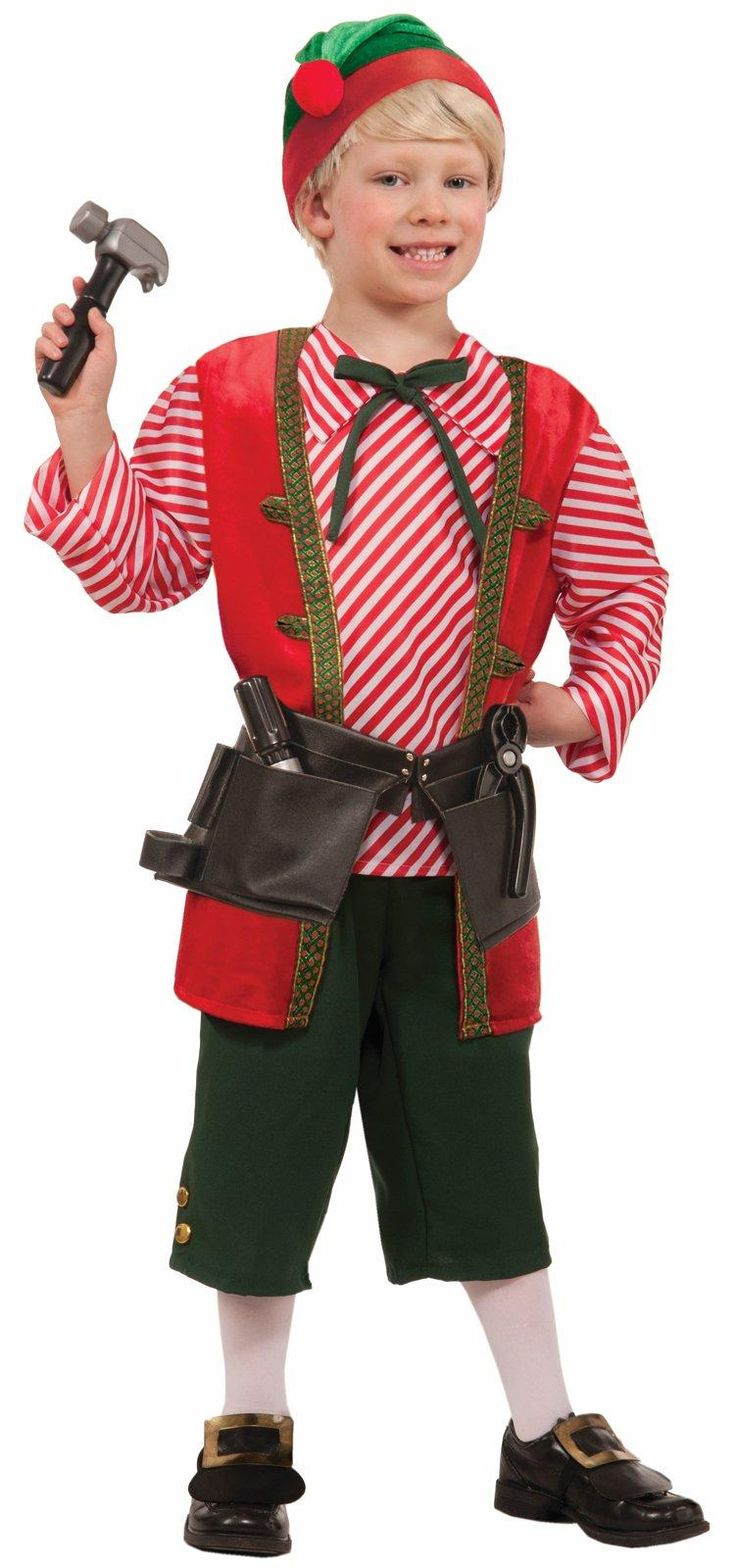 Elf Toy Maker Costume For Kids from CostumeExpress.com