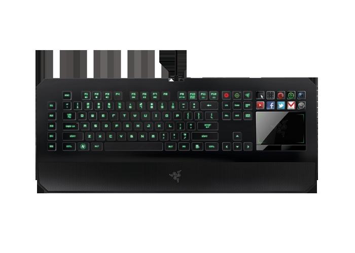 Razer Deathstalker Gaming Keyboard Razer Pc Games Accessories Keyboard