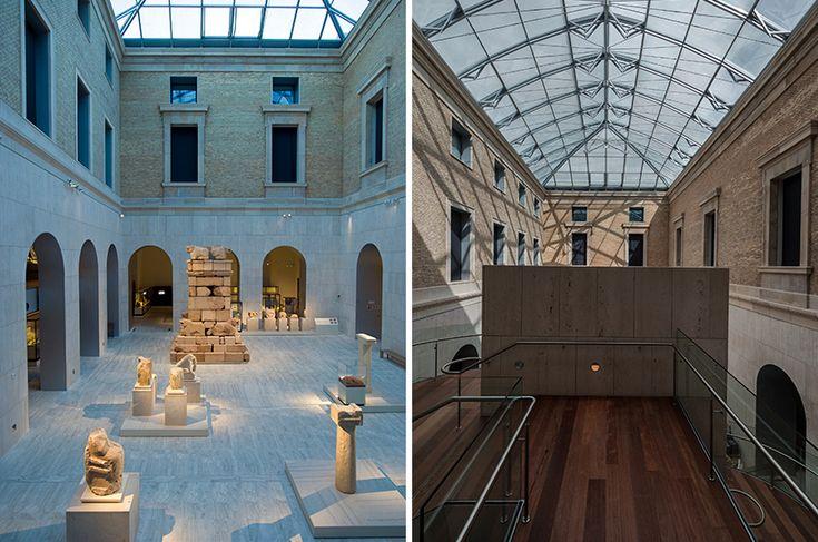 Frade arquitectos museo arqueologico nacional arquitectura espanola pinterest madrid and - Arquitectos interioristas madrid ...