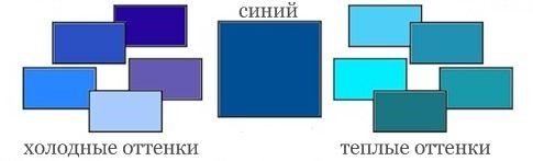 палитр синего теплый и холодный: 12 тыс изображений найдено в Яндекс.Картинках