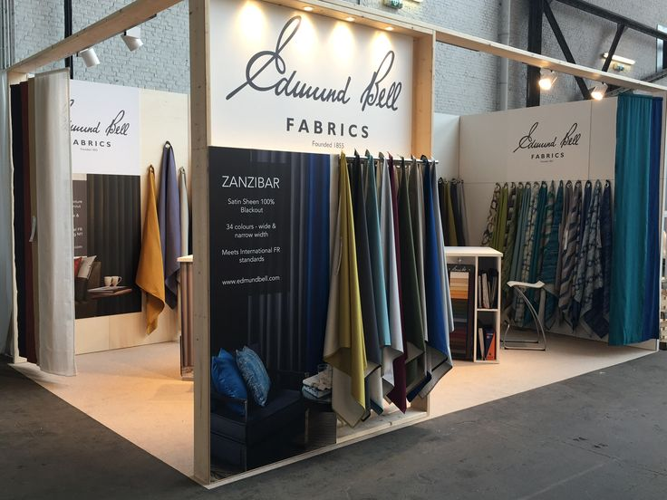 Fabric Exhibition Stand Year : Best edmund bell at exhibitions images on pinterest