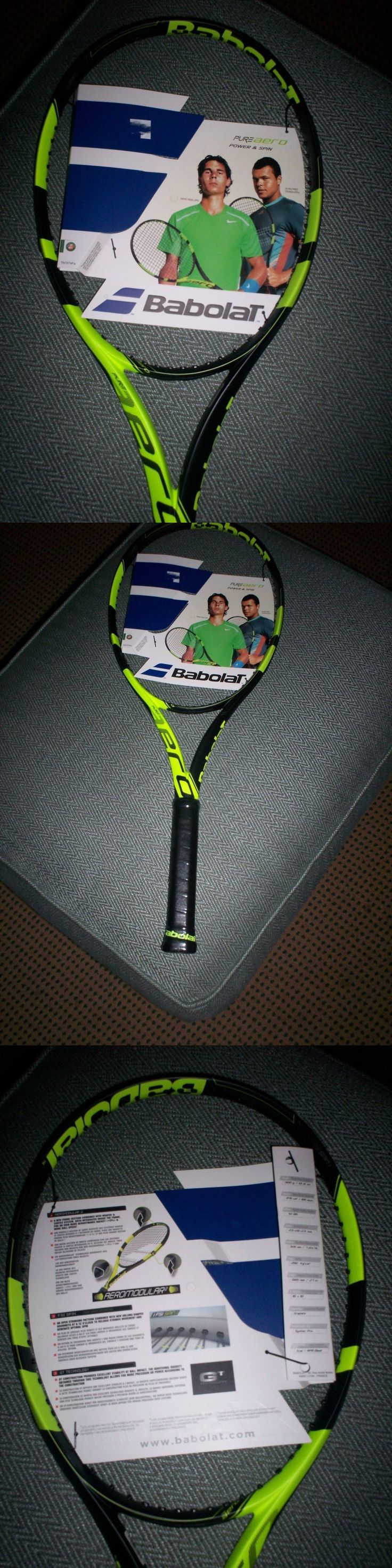 Racquets 20871: Babolat Pure Aero Unstrung Tennis Racquet Nwt- 4 3 8 -> BUY IT NOW ONLY: $159.99 on eBay!