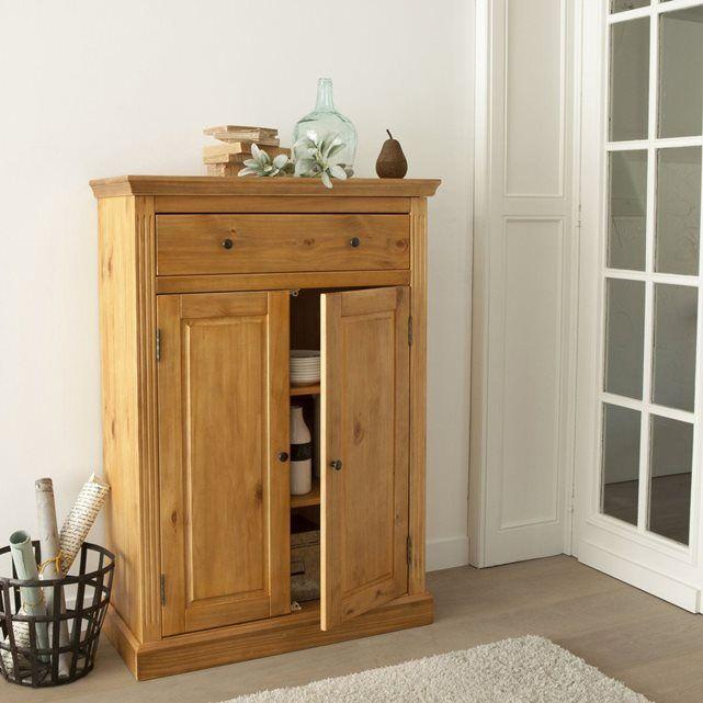 48 best meubles bois images on pinterest furniture coffer and dessert table. Black Bedroom Furniture Sets. Home Design Ideas