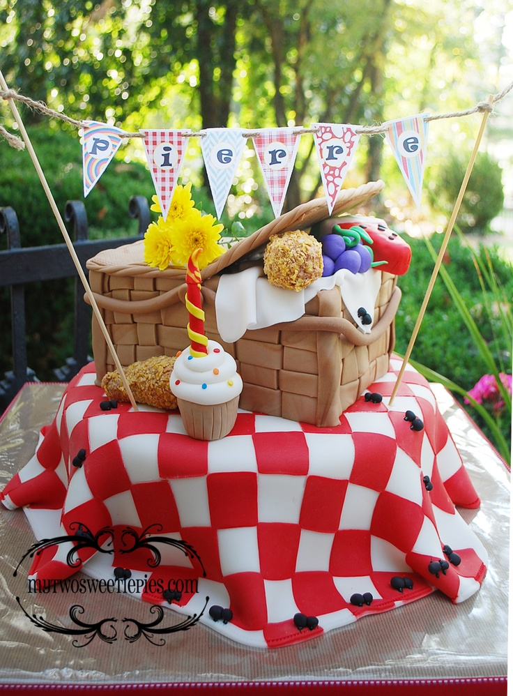 This was a picnic birthday party