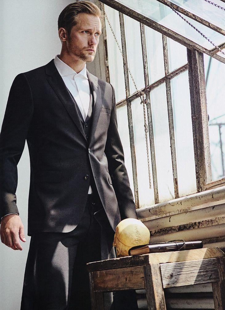 Alexander Skarsgård | Alexander Skarsgard in VS Magazine Fall/Winter...