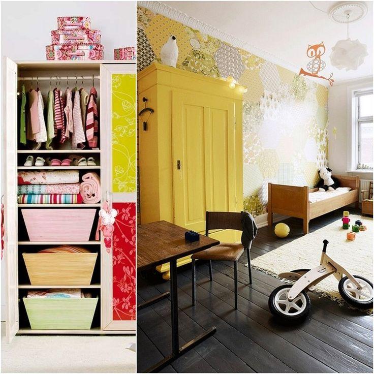 Children S Armoire Closet An Easy Storage Solution