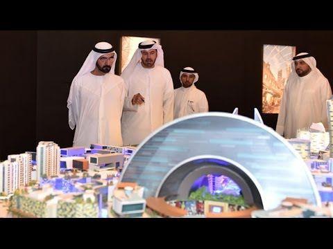 """محمد بن راشد يطلق مشروع """"مول العالم"""" أكبر مركز تسوق من نوعه في العالم"""