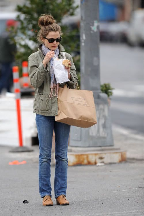 Keri Russell's casual style