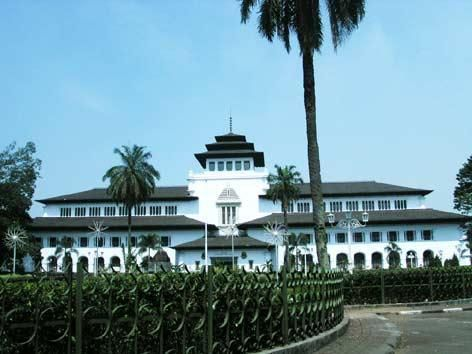 gedung sate... one of the city's landmark...