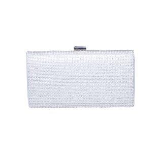 Papaya White Pearl/ Strap Bag