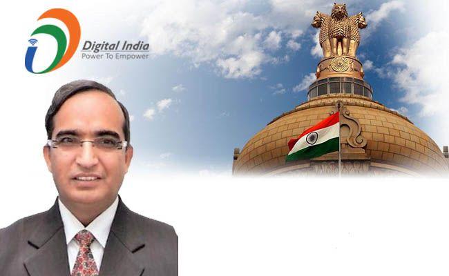 Digital India 2016 - Vipin Tyagi, ED, CDOT