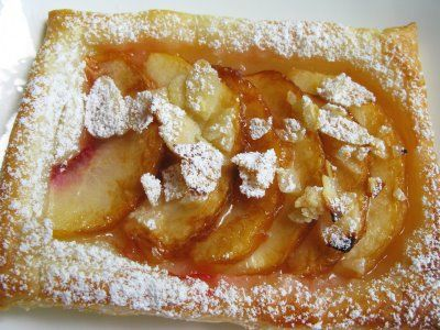 Sugar & Everything Nice: Peach Puff Pastry Tarts