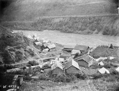 Telegraph Creek, 1897. Photo: Archives Canada