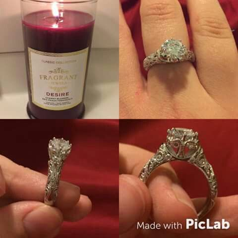Ring found in our desire candle  #Fragrant jewels #candles #ring