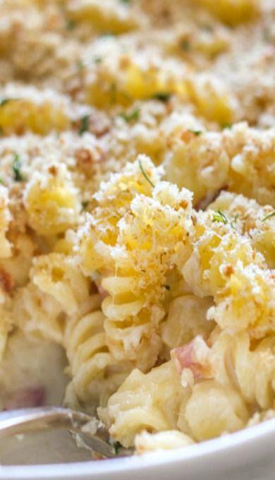 Chicken Cordon Bleu Pasta Bake | Recipe