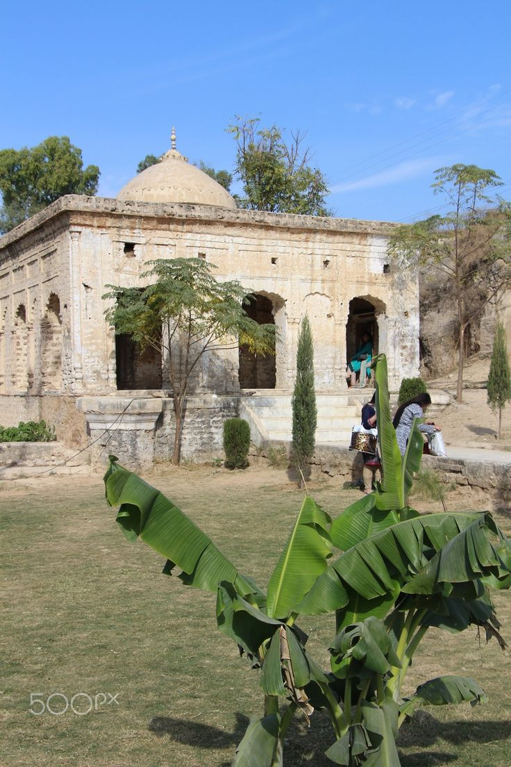 Katas Raj Temples - Katasraj Mandir, is a Hindu temple complex situated in Katas village near Choa Saidanshah in the Chakwal district of Punjab in Pakistan. More details: https://en.wikipedia.org/wiki/Katasraj_temple