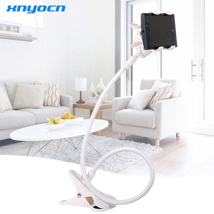 Xnyocn 2017 New 360 Degree Roating Flexible Phone Holder Stand For Mobile Long Arm Holder Bracket Support For Bed Desktop Tablet