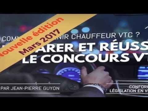 Livre examen VTC - Passer le concours de chauffeur VTC - Go Between Paris