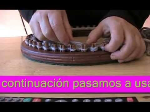 ▶ TUTORIAL GORRO EN TELAR CIRCULAR/ hat with knitting loom - YouTube