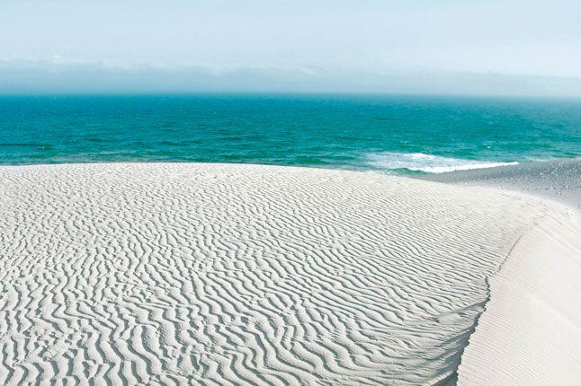 Sand dunes at De Hoop Nature Reserve. Photograph by David Crookes for Condé Nast Traveller.  www.facebook.com/davidcrookesnotesfromthefield
