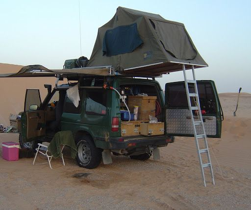 Hannibal Awning On Discovery Hannibal Roof Rack 1 4m