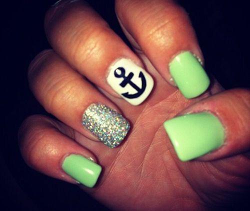 How pretty!22 Beautiful Summer Nail Designs
