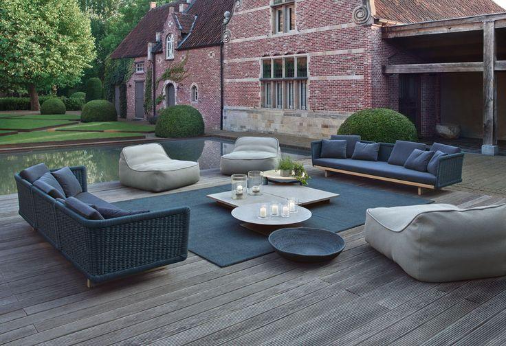 Garden in Belgium designed by Jan Joris Tuinarchitectuur