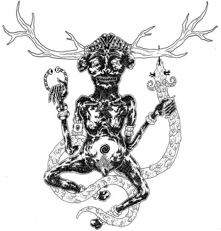 """Nella mitologia celtica, Cernunnos era lo spirito divinizzato degli animali maschi cornuti, specialmente dei cervi, un dio della fecondità, degli animali e della natura selvaggia. Come """"Dio Cornuto"""", Cernunnos fu una delle numerose divinità simili presenti in molte culture antiche. È associato alla figura Oltretombale del Dis Pater."""