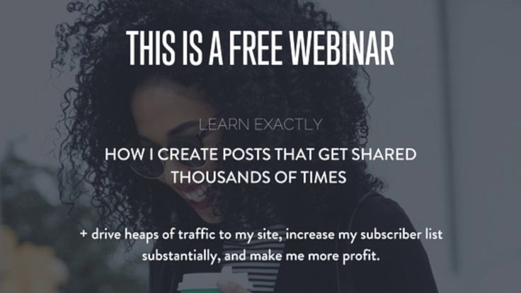 I recorded a live webinar for you where I share the exact process I use to create posts that get shared thousands of times, grow my newsletter list and make me more money, without even blogging.  I would love for you to come and watch. I had a lot of fun recording this with some of my audience.  You will learn:  What these posts look like Why I am actually sharing these posts Where I gather the data for these posts, how to save it, tag it AND publish it What TWO points of human behavior…