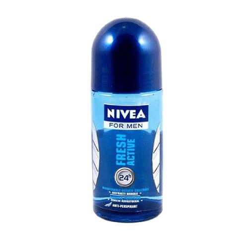 Nivea Fresh Active Roll On Men 50gm Buy Online at Best Price in India: BigChemist.com