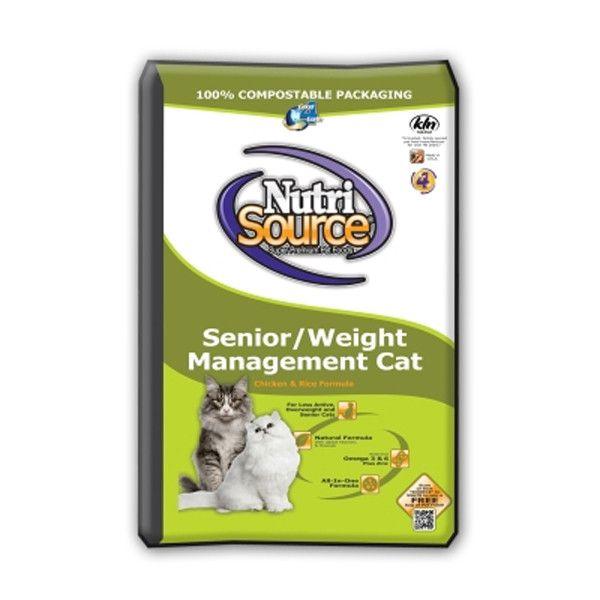 KLN NutriSource - Weight Management Senior Cat Food