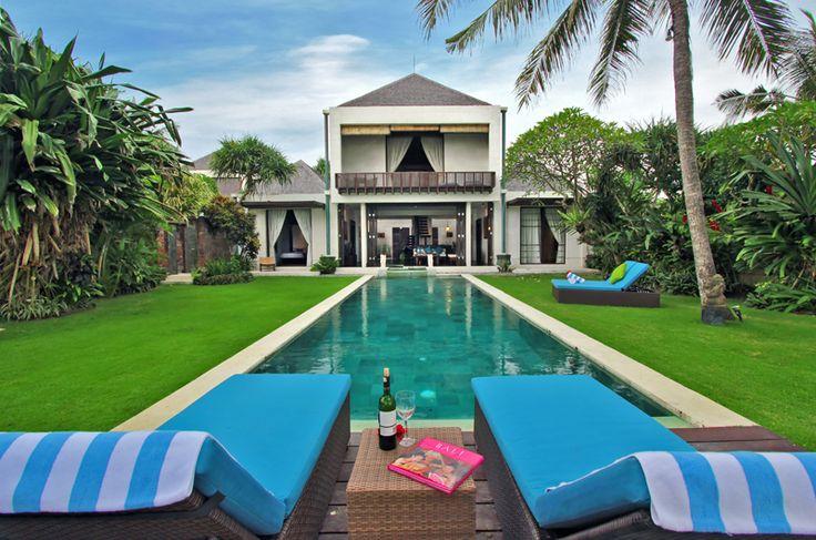 Villa Samudra | 3 bedrooms | Sanur, Bali #villa #bali #exterior #swimmingpool #garden #photo