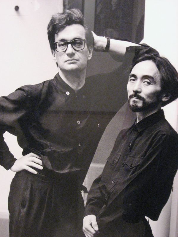 Wim Wenders and Yohji Yamamoto, by Alice Springs