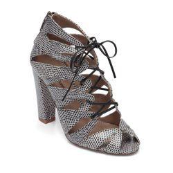 darci lace up sandals // delman